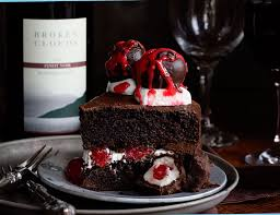 Chocolate Cake with Red Wine Chocolate Covered Cherries i am baker