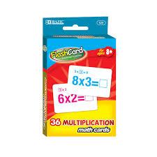 Multiplication Flash Cards Mazer Wholesale Inc
