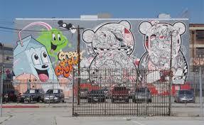 wall mural artist los angeles
