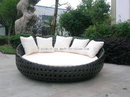 round outdoor daybed furniture cover