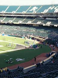Oakland Raiders Seating Chart Ringcentral Coliseum Section 225 Row 7 Home Of Oakland
