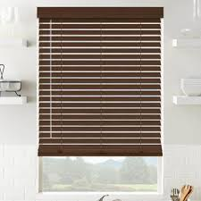 wooden blinds for windows.  Windows 2 Inch Select American Hardwoods In Gunstock On Wooden Blinds For Windows