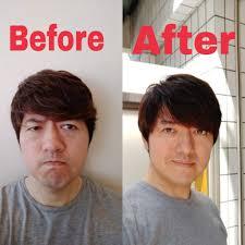 前髪の縮毛矯正キャンペーン メンズ上尾美容室ブルームーンbluemoon