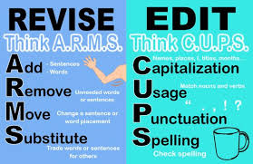 Anchor Charts Fascinating Revise Vs Edit Anchor Chart Laminated Etsy