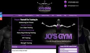 gym website design jos gym female personal trainer norwich web design and graphic