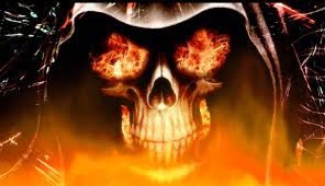 the interesting fireplace animation. Fire Skull Animated Wallpaper The Interesting Fireplace Animation