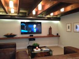 basement ceiling lighting. Exposed Ceiling Lighting The Best Low Basement Ideas On Ceilings Drop And T