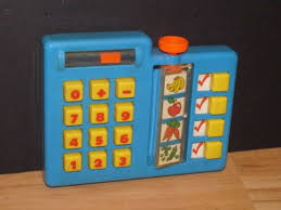 Shopping List Price Calculator Fisher Price Vintage Fun With Food 1984 Grocery Shopping List