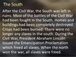 Venn Diagram Civil War North Vs South Before The Civil War