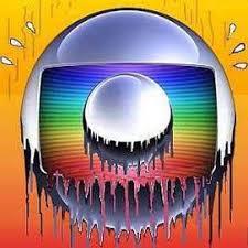 Resultado de imagem para charges da logomarca da Globo