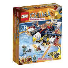 Đồ chơi LEGO Chima 70142 Máy Bay Chiến Đấu Lửa