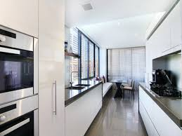 galley kitchen compactness and functionality in one package