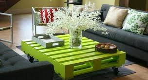 how to make my own pallet coffee table
