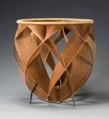 bamboo basket by shono shounsai bamboo wood furniture
