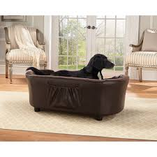 full size of enchanted home brown ultra plush panache pet bed sofa free dog furniture