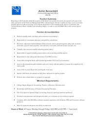accountant resume junior accounts manager  seangarrette co   financial controller resume examples   accountant resume
