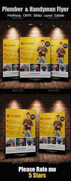 Handyman Flyer Template Fascinating 48 Best Handyman Services Flyers Print Templates PSD Images On