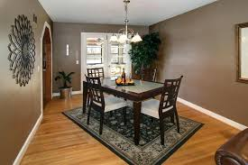 ideal rug size for dining room table dining room area rug size average size dining room