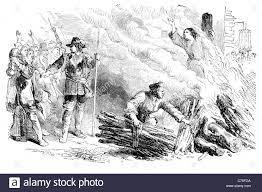 Elizabeth Gaunt 1685 English woman death treason convicted Rye House Stock  Photo - Alamy