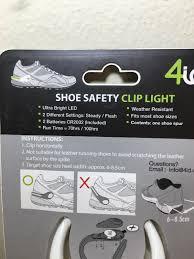 4id Lights New 4id Power Spurz Shoe Safety Light Running Safety Walking Flash Green