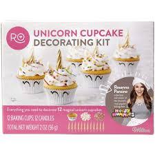 Amazoncom Rosanna Pansino By Wilton Unicorn Cupcake Decorating Kit