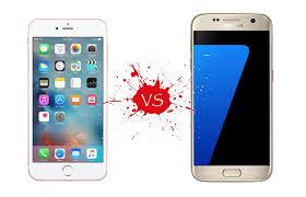 samsung galaxy s7 vs iphone 6s. iphone 6s vs samsung galaxy s7: samsung\u0027s killing it in 2016 s7 iphone