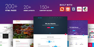Website Html Templates Simple Materialize Material Design Based Multipurpose HTML Template By