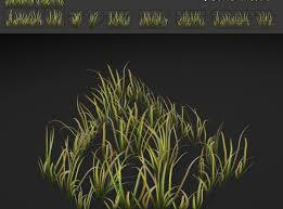grass texture game.  Game Grass Patch Textures For Games 3d Model Lowpoly Max Obj Fbx Mtl Tga 8  To Grass Texture Game S