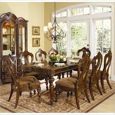 Homelegance Prenzo 7 Piece Dining Table Set in Warm Brown  13901027