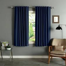 curtains 64 x 54 window long drop aurora home solid insulated thermal inch blackout curtain curtains 64 inch
