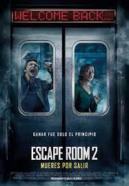 Poster zum Escape Room 2: No Way Out ...