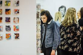 ual foundation diploma in art design courses plymouth  students exhibit work at our annual end of year foundation show