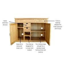 picture mobel oak large hidden office. Mobel Oak Hidden Home Office Picture Large N