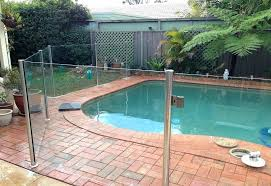 glass pool fence costs decorating ideas