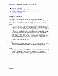 Research Paper Template Apa Simple Template Design