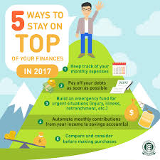Keep Track Of Your Finances 5 Ways To Stay On Top Of Your Finances In 2017