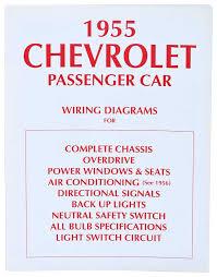 1955 tri five chevy parts literature multimedia literature 1955 chevrolet black white wiring diagram