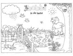 Kleurplaten Bobbi Educatief Bobbi