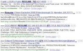 How To Find Resumes On The Internet With Google Boolean Black Belt Fascinating How To Find Resumes On Google