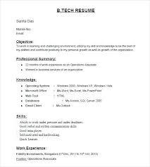 Microsoft Windows Resume Template Windows Resume Template Model
