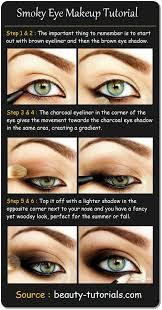 smokey eye makeup for blue eyes step by step