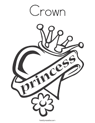 Small Picture Draw Princess Crown Coloring Pages 15 On Coloring Books with