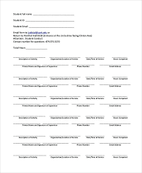 sorority letter of recommendation example basic community service completion form sample verification