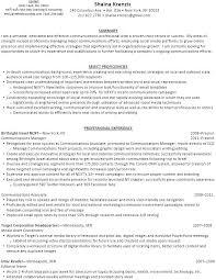 Social Media Sample Resume Online Resumes Samples First Rate Sample