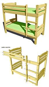 easy diy bunk bed plan