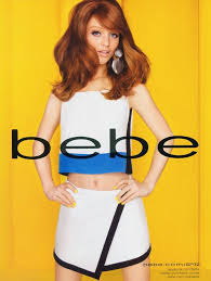 Who is the redhead bebe model