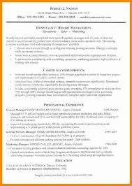 12 Cv Hospitality Example Theorynpractice