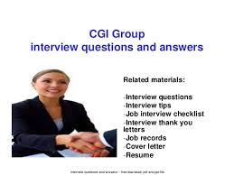 group interview questions cgi group interview questions and answers