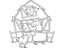 Farm Animal Coloring Pictures Predragterziccom