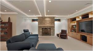 Modern Living Room Ceiling Decorating Ideas With Led Lighting